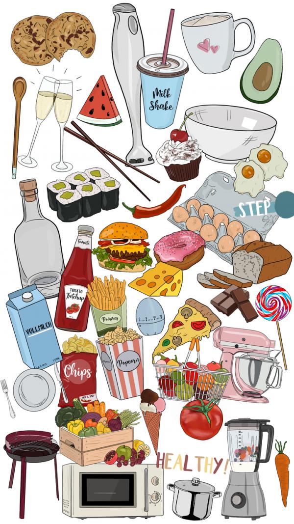 Storysticker Food